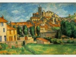 "Paul Cézanne, ""Gardanne"", 1885 – 1886, The Barnes Foundation, Merion, Pennsylvania"