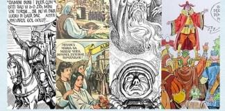 benzi desenate Valentin Tănase