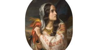 """C. D. Rosenthal, """"România Revoluționară"""" (portretul Mariei Rosetti)"""