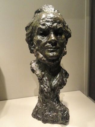 Honoré Daumier, Autoportret, bronz, dată necunoscută, Art Institute of Chicago