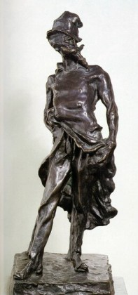 """""""Ratapoil"""", statuetă de bronz, 1850"""