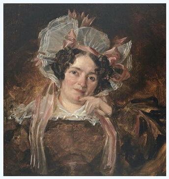 """""""Portret de femeie"""", 1818"""