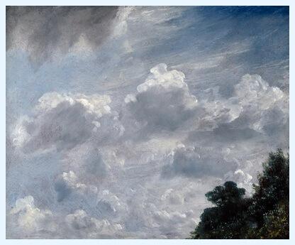 """""""Studiu de nori"""", 11 septembrie 1821"""