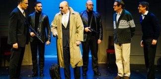 """Imagine din spectacolul """"Oslo"""" de J. T. Rogers, Teatrul Beit-Lessin din Tel Aviv"""