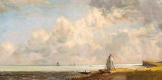 "John Constable, ""Farul din Harwich"""