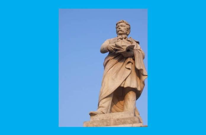 Statuia lui Gheorghe Lazăr din București, realizată de Ion Georgescu, 1896