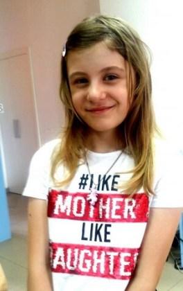 """Cristina Eutalia Mincu, 9 ani, Şcoala gimnazială """"Hariclea Darclée"""", Brăila"""