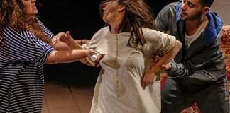 "Imagine din spectacolul ""Lady Amar"", Teatrul Tmu-na din Tel Aviv"