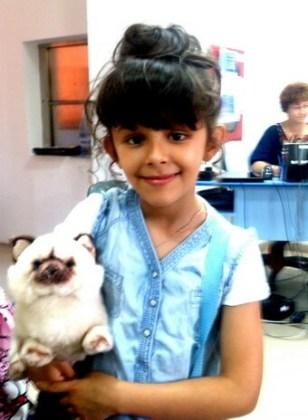 """Sara Dîrnea, 7 ani, Şcoala gimnazială """"Mihai Eminescu"""", Brăila"""