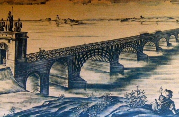 podul lui traian drobeta