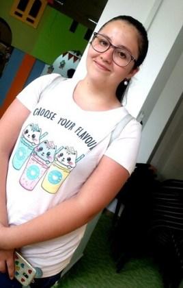 """Andreea-Roxana Cara, 13 ani, Şcoala gimnazială """"Ion Băncilă"""", Brăila"""