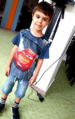 """Lucas-Ştefan Ghiţă, 6 ani, Şcoala gimnazială """"Ion Creangă"""", Brăila"""