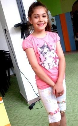 """Roxana-Ioana Dan, 10 ani, Liceul de arte """"Hariclea Darclée"""", Brăila"""
