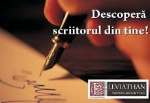 concurs cu premii descoperă scritorul din tine asoc cult leviathan