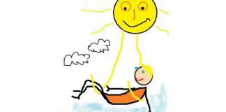 """""""Soarele"""", desen de Lică Barbu"""