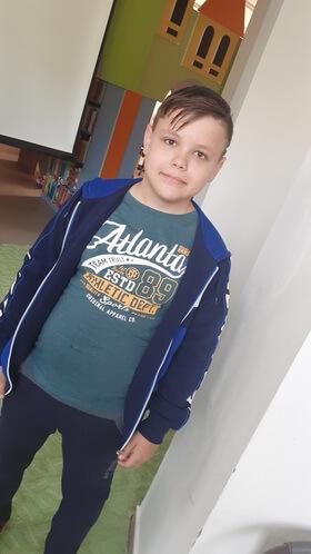 """Alexandru-Gabriel Ioniţă, 12 ani, Şcoala gimnazială """"George Coşbuc"""""""