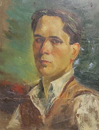 Dumitru Bâșcu, Autoportret