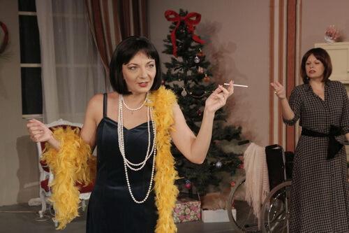 Imagini din spectacol. Sursa Teatrul Național din Iași
