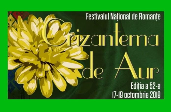 """Festivalul Naţional de Interpretare şi Creaţie a Romanţei """"Crizantema de aur""""doc"""