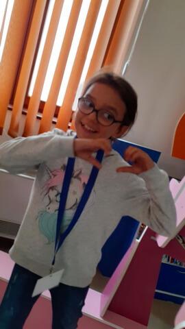 Giulia Orăşanu, 9 ani, Liceul cu Program Sportiv Brăila