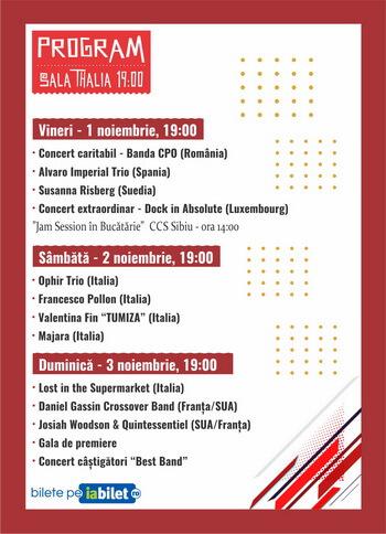 program sibiu jazz competiton 2019