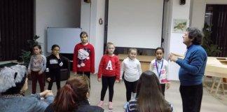 """Lică Barbu și grupul artistic """"Nino Nino"""", Biblioteca Județeană """"Panait Istrati"""", Brăila, noiembrie 2019"""