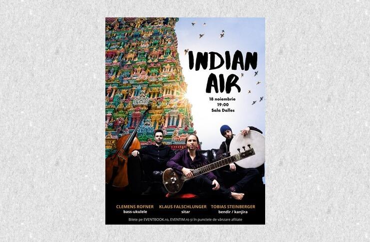 știri Concert Indian Air 17 18 Noiembrie 2019