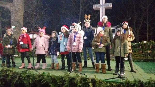 În Parcul Monument din Brăila, 21 decembrie 2019