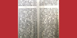 placa memoriala scriitori romani marele razboi