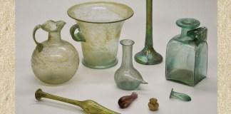 vase antice de sticlă