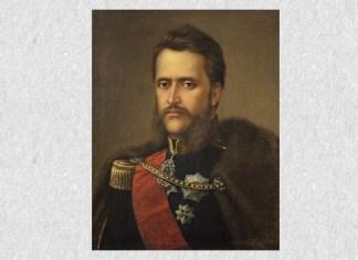 Mișu Popp, Portretul lui Alexandru Ioan Cuza, 1881, Muzeul de Artă din Brașov