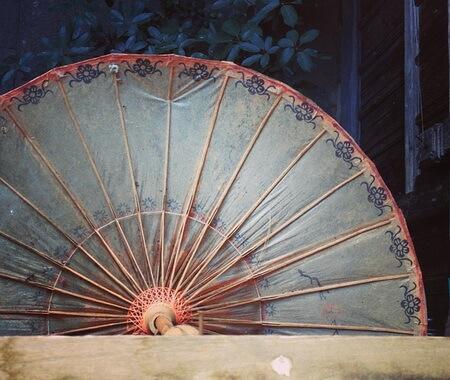 Umbrelă de hârtie din provincia Yunnuan, China
