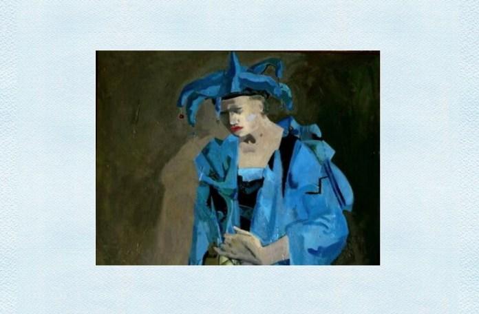 "Adina Romanescu, ""Arlechin"", ulei pe pânză, 2006"