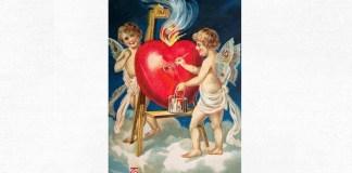 Felicitare de Sfântul Valentin, 1909