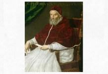 Lavinia Fontana (1552 – 1614), Portretul papei Grigore al III-lea