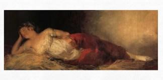 "Francisco de Goya, ""Femeie adormită"", cca 1790 – 1793"