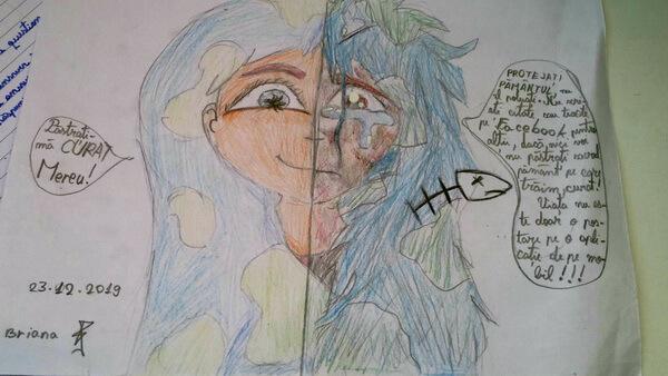 Desen de Briana Băjenaru