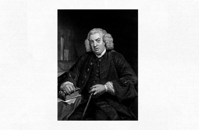 Samuel Johnson, portret de Evert A. Duycknick
