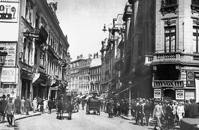 Calea Victoriei în 1930