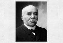 Georges Clemenceau. Foto: Nadar, 1904