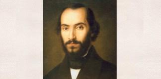 Gheorghe Tattarescu, Portretul lui Nicolae Bălcescu