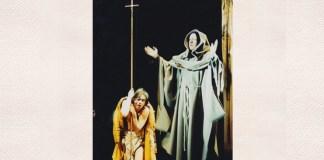 """Marin Moraru în """"Saragosa – 66 de zile"""". Sursa foto: Teatrul Odeon din București"""