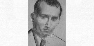 Mihail Sebastian, portret de Adina Romanescu, 2016. Inedit
