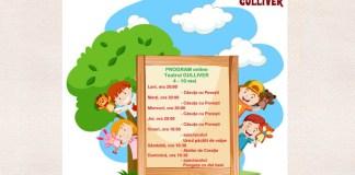 Program 4-10 mai Teatrul GULLIVER