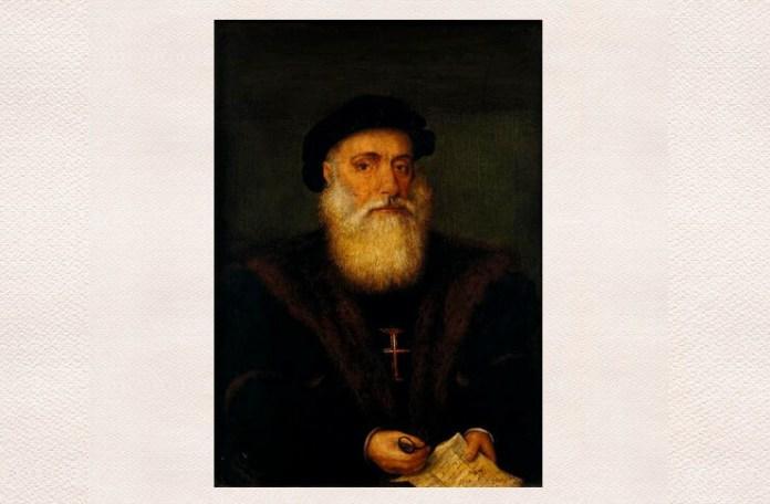 Vasco da Gama, portret de autor necunoscut, Muzeul de Artă Veche, Lisabona