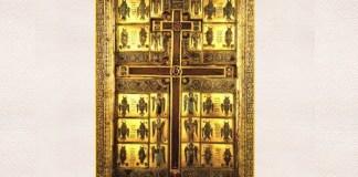 aratarea sfintei cruci pe cer ierusalim