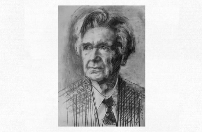 Emil Cioran, portret de Adina Romanescu, 12 iunie 2020. Inedit