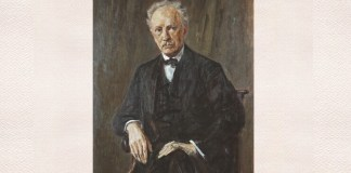 Max Liebermann, Richard Strauss, ulei pe pânză, 1918