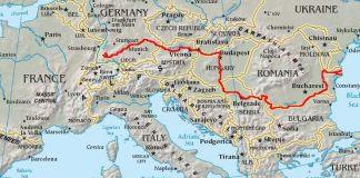 Harta Dunării