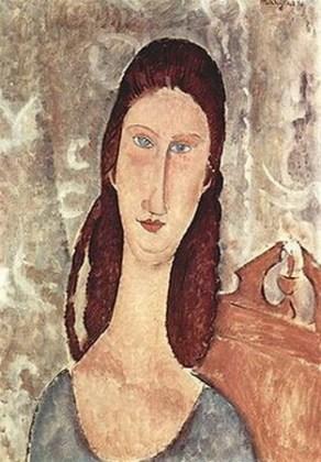 Portretul lui Jeanne Hébuterne, 1919